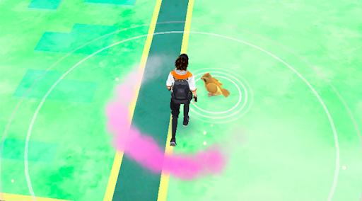 Pokémon Go : encens