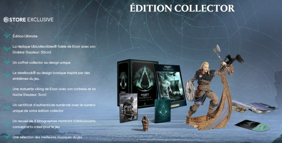 Assassin's Creed Valhalla - Edition Collector