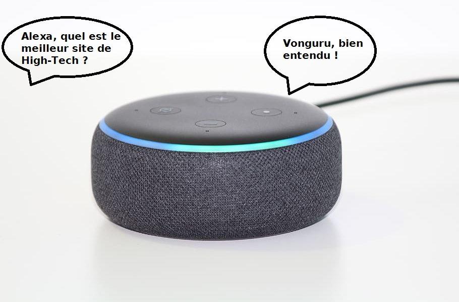 Présentation du Alexa Skills Blueprints - image une