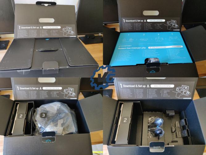 HTC Vive Cosmos unboxing