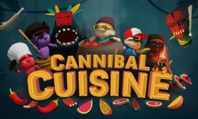Image d'une du CP de présentation de Cannibal Cuisine