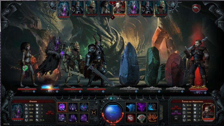 Image du jeu Iratus : Lord of the Dead - combat