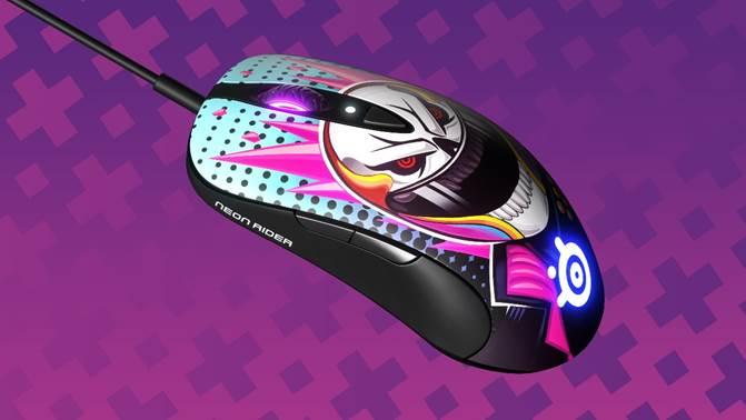 Souris Neon Rider