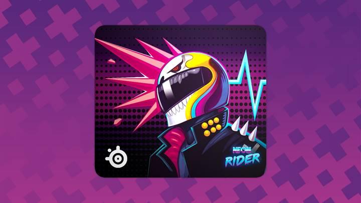 Tapis L Neon Rider