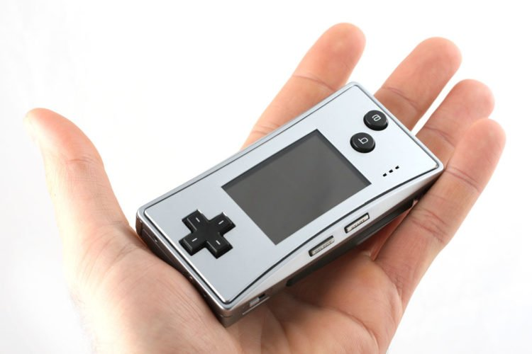 Game boy micro taille