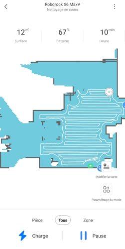 Mapping du Roborock