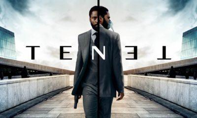 Affiche du film de Christopher Nolan - Tenet