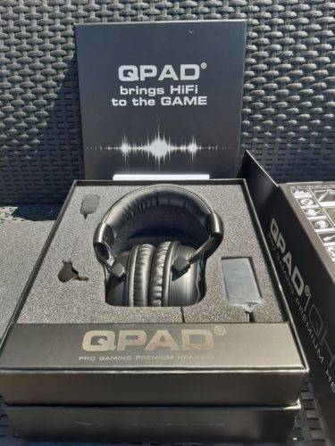 Casque QPAD QH95 - unboxing 1