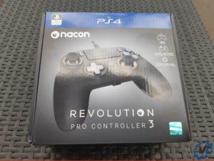Test Nacon Pro Controller 3 - Box 1