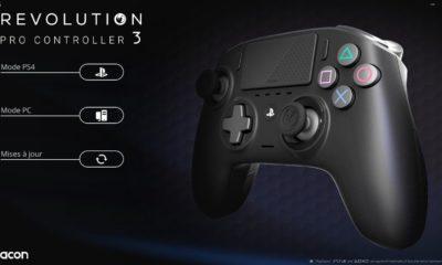 Test Nacon Pro Controller 3 - Logiciel 1