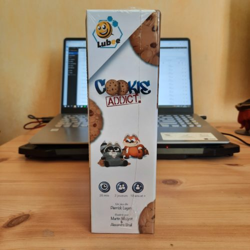 Cookie Addict packaging