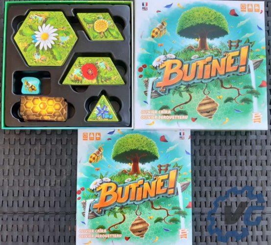 Test Butine - présentation du jeu