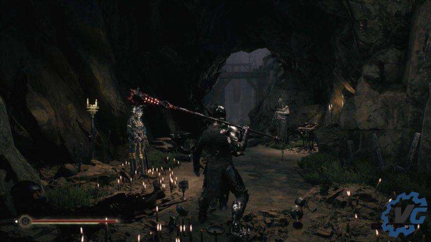 Test Mortal Shell - Armes