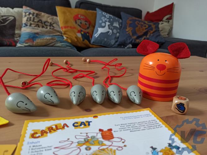 Carla Cat - Contenu de la boîte