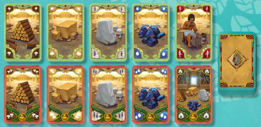 Cléopâtre cartes