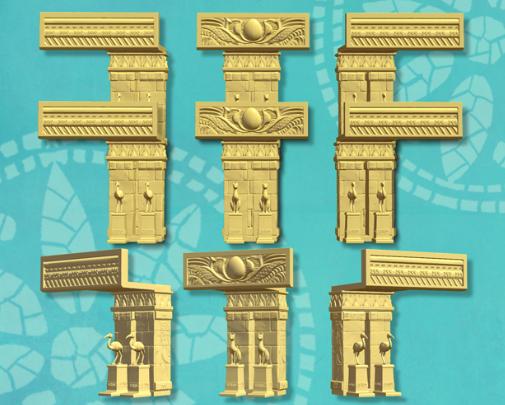 Cléopâtre murs