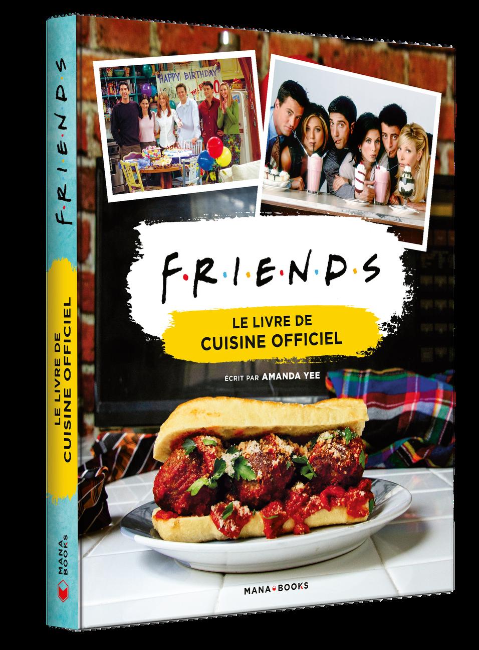 Friends livre cuisine