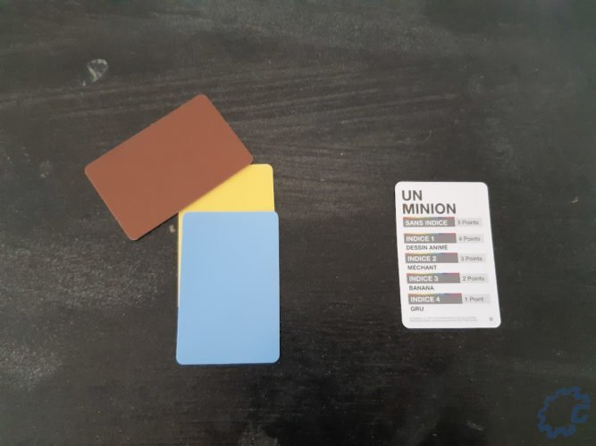 Pantone : The Game - exemple minion