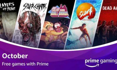 Prime gaming octobre