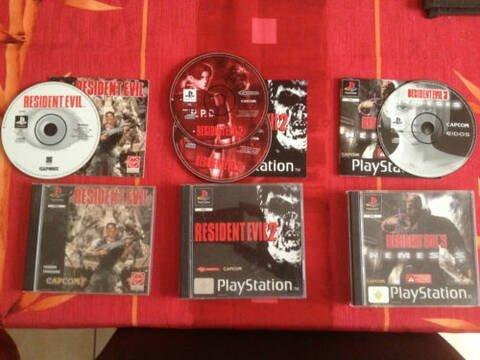 Trilogie Resident Evil