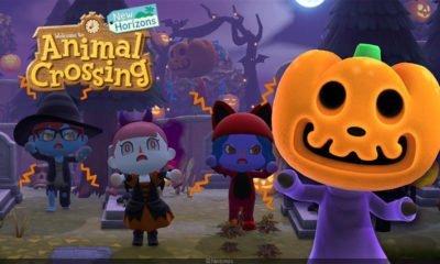 Animal Crossing: New Horizon màj Halloween