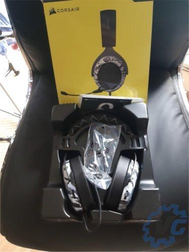 Test casque HS60 Surround Haptic Corsair - Unboxing