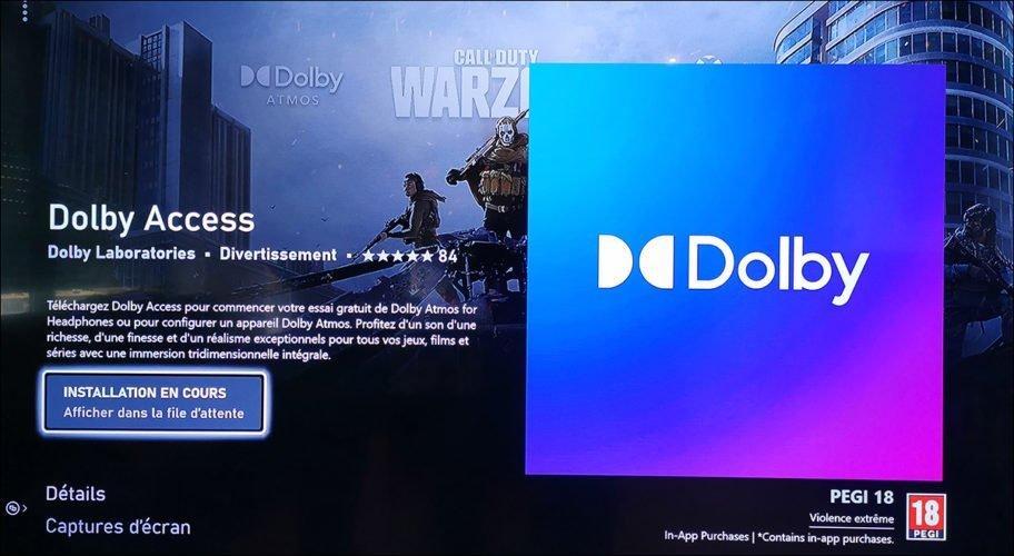 Dolby Atmos pour Casque Corsair HS75 XB