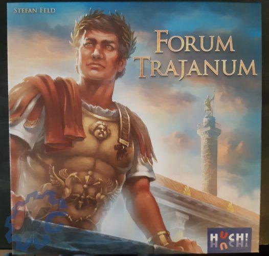 Test Forum Trajanum - Présentation de la face avant de la boîte