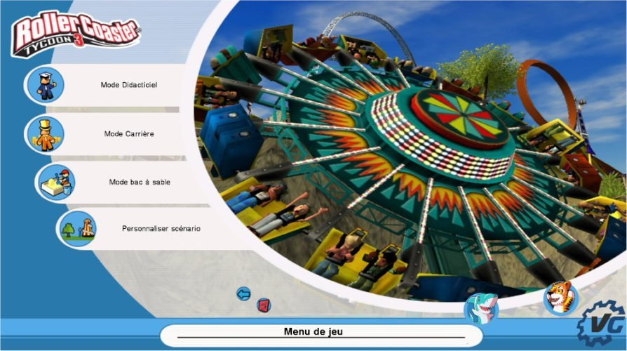 Test Roller Coaster Tycoon 3 Complete Edition : modes de jeu