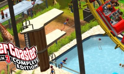 Test Roller Coaster Tycoon 3 Complete Edition : titre