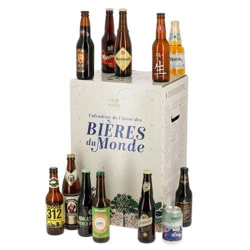Calendrier bière sélection Noël 2020