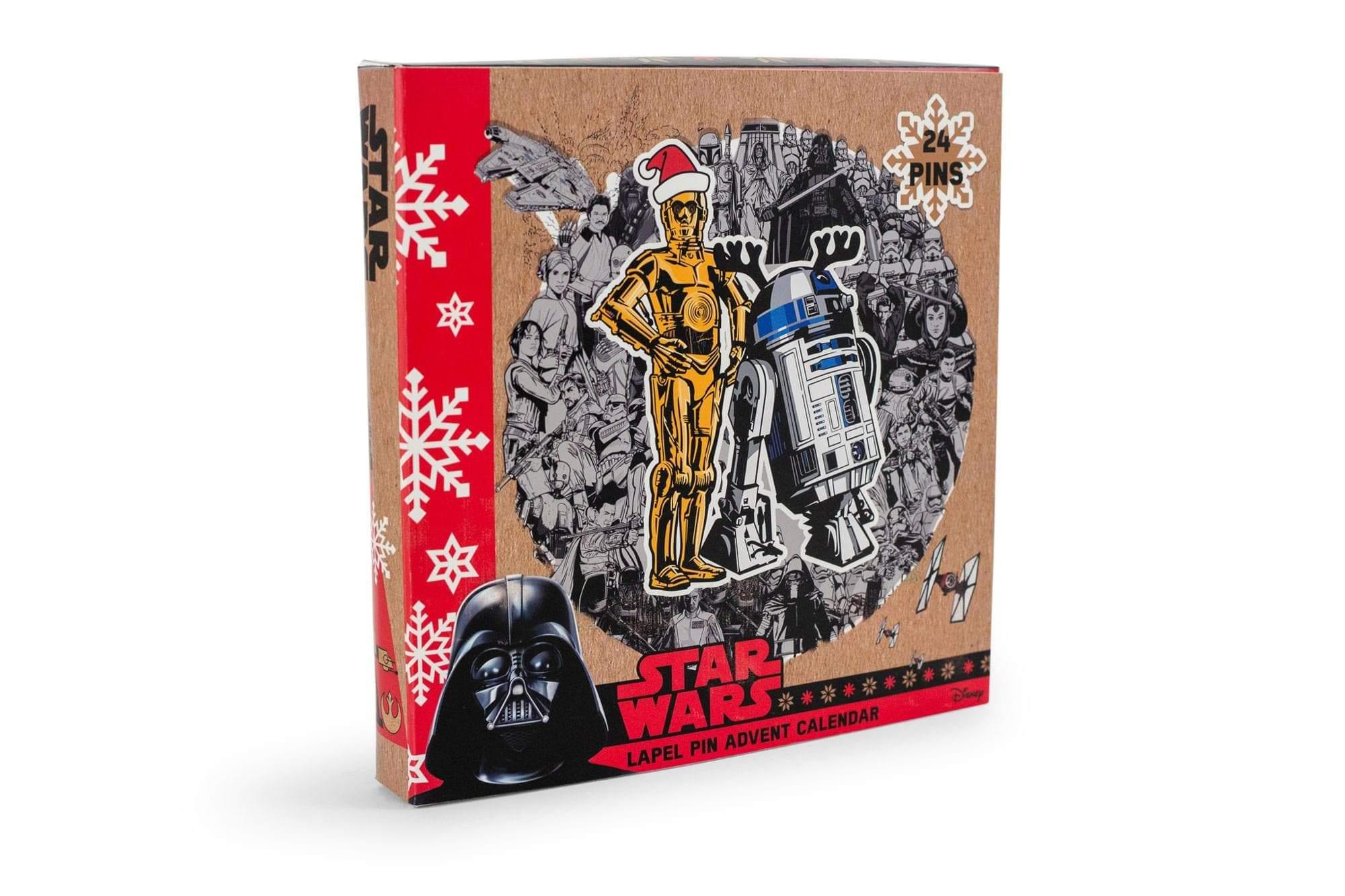Calendrier Star Wars sélection Noël 2020