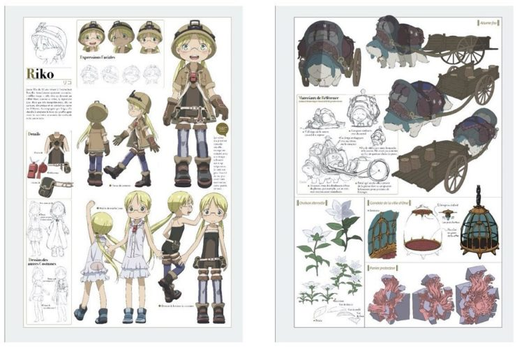 Made in Abyss - Triple Artbook