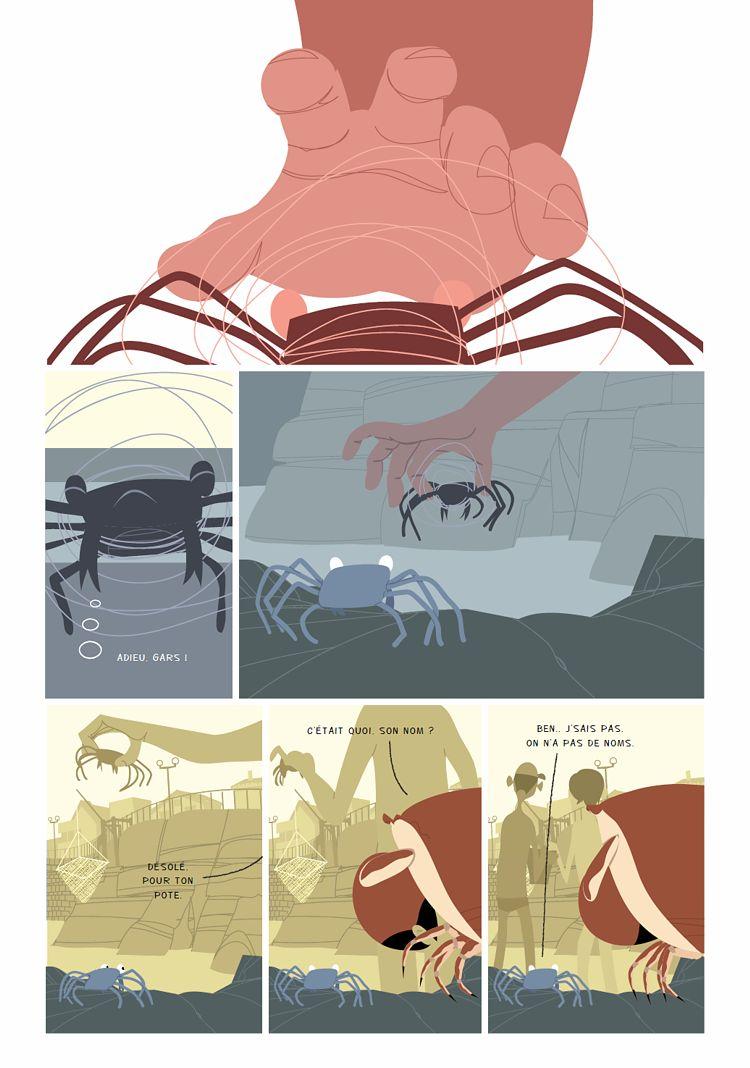 Marche du crabe