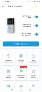 Logiciel Ring Video Doorbell 3