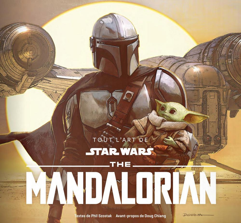 Tout l'art de The Mandalorian - Couverture