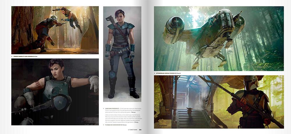 Tout l'art de The Mandalorian - Pages 131/132
