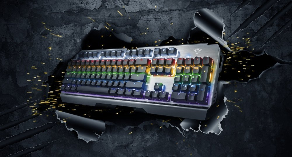 Test clavier Trust Gaming Scarr GXT 877 - image une