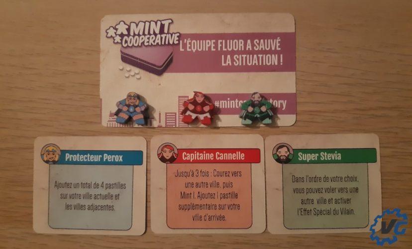Test jeu de société The Mint - Cooperative pions