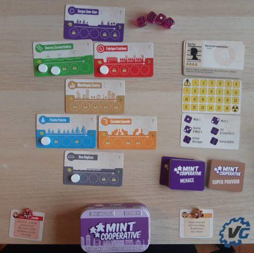Test jeu de société The Mint - Cooperative