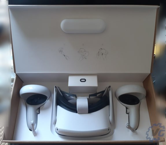 test Occulus Quest 2 - Unboxing