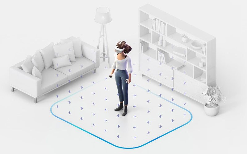 test Oculus Quest 2 - position
