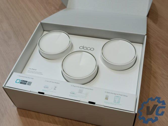 Tp-Link Deco X20 - Intérieur de la boîte