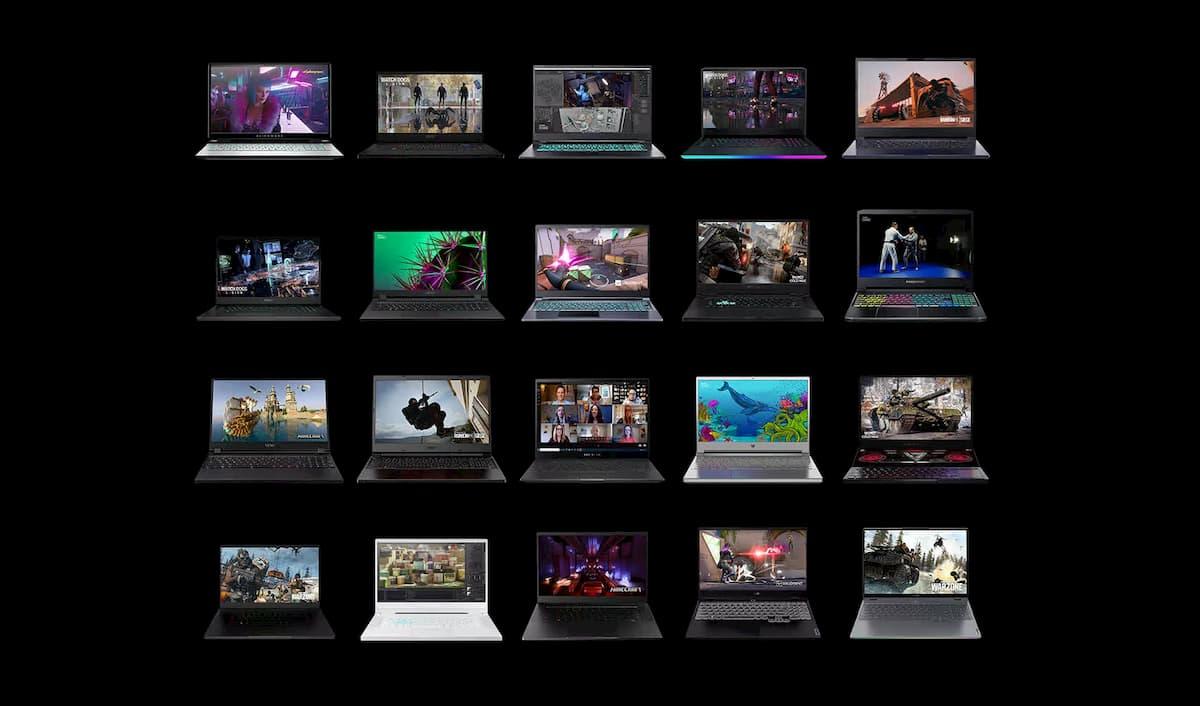 RTX 30 laptop