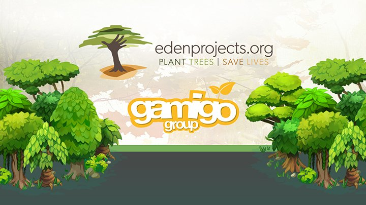 gamigo Eden Reforestation Projects
