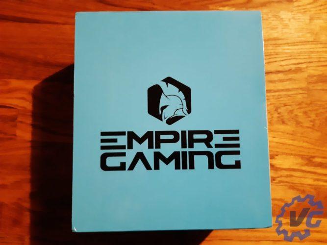 Test casque WarCry P-HW1 de Empire Gaming - Boîte
