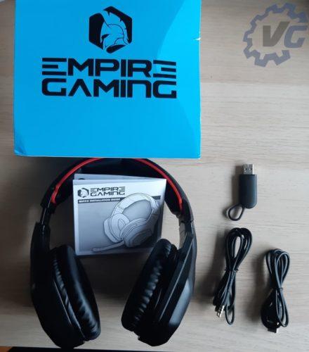 Test casque WarCry P-HW1 de Empire Gaming - Contenu