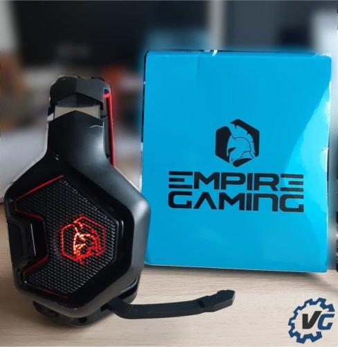 Test casque WarCry P-HW1 de Empire Gaming - Côté