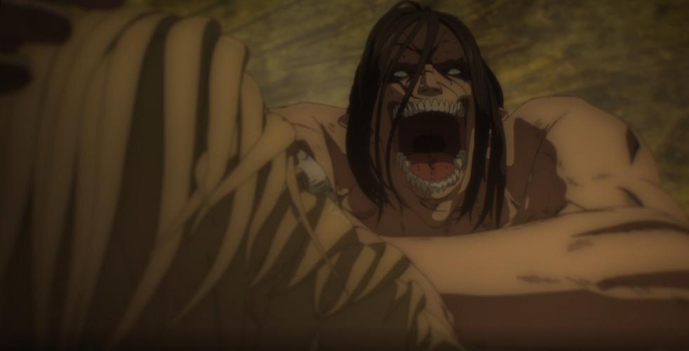 L'Attaque des Titans - épisode 66 : L'assaut - La mort du titan marteau