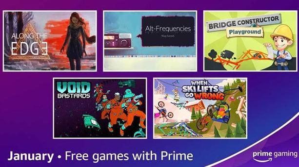 Prime Gaming janvier